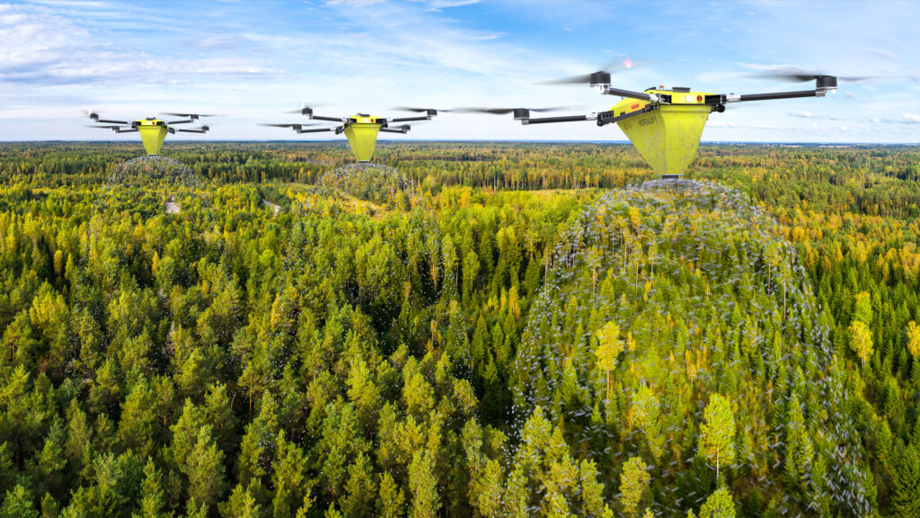 Nordluft drone swarm